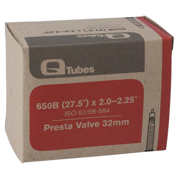 """Q-Tubes Presta Valve Tube, 27.5"""""""