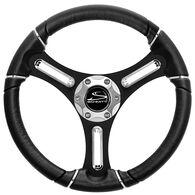 Schmitt Torcello Polyurethane Steering Wheel With Chrome Trim