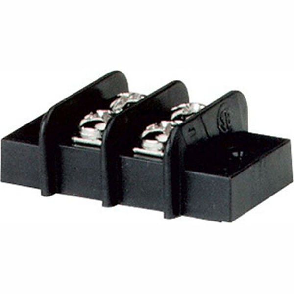 Blue Sea 20-Amp Terminal Block, 2 Circuits