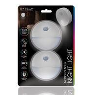 Bytech Cordless Motion-Sensor Night Light, 2-Pack