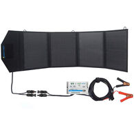 ACOPOWER LTK 50W Foldable Solar Panel Suitcase with 5A Charge Controller