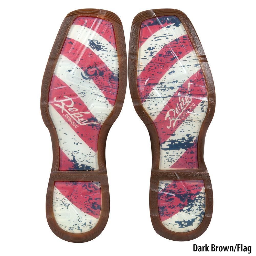 55f639de3ec Durango Men's Rebel Patriotic Pull-On Western Flag Boot