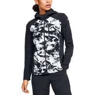 Under Armour Women's ColdGear Reactor Hybrid Lite Printed Jacket