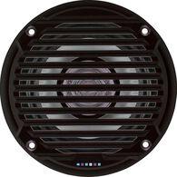 """Jensen MS5006BR 5.25"""" Dual Cone Waterproof Speakers, Black, Pair"""