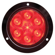 "Optronics STL13 Flange-Mount Fleet Count 4"" Round LED Tail Light"