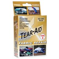 """Tear-Aid Fabric Repair Kit, Type A, 3"""" x 12"""" patch"""