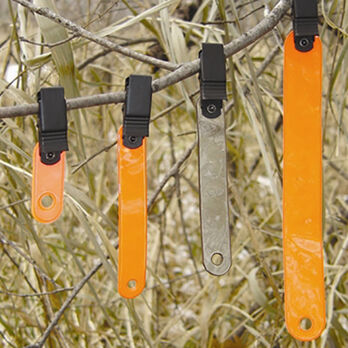 "HME 3"" Orange Trail Markers, 10-Pack"