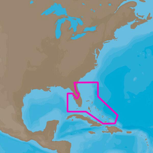 C-MAP 4D NA-D943 Cartography, Florida And The Bahamas