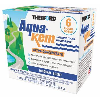 Aqua-Kem Deodorant - Six 8 oz. bottles