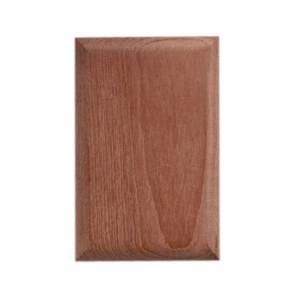 Whitecap Teak Blank Cover Plate