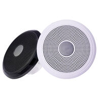 "FUSION XS-F40CWB XS Series 4"" 120 Watt Classic Marine Speakers - White & Black Grill Options"