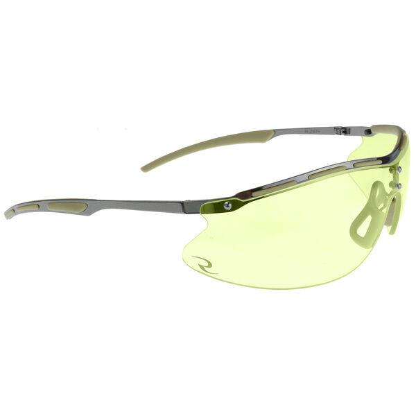 Radians Bravo CSB101-BX Series Tactical Shooting Glasses, Amber
