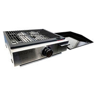 "Greystone 17"" Tabletop Outdoor Gas Grill / Griddle Combo"