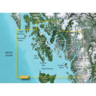 Garmin BlueChart g2 Vision HD Cartography, Wrangell, AK - Dixon Entrance