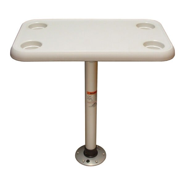 Springfield Rectangle Table Package With Thread-Lock Pedestal