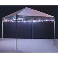 Brightz Canopy Lights, Red, White & Blue