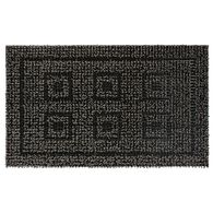 AstroTurf Panel Design Patio Mat, 18'' x 30'', Black/Gray
