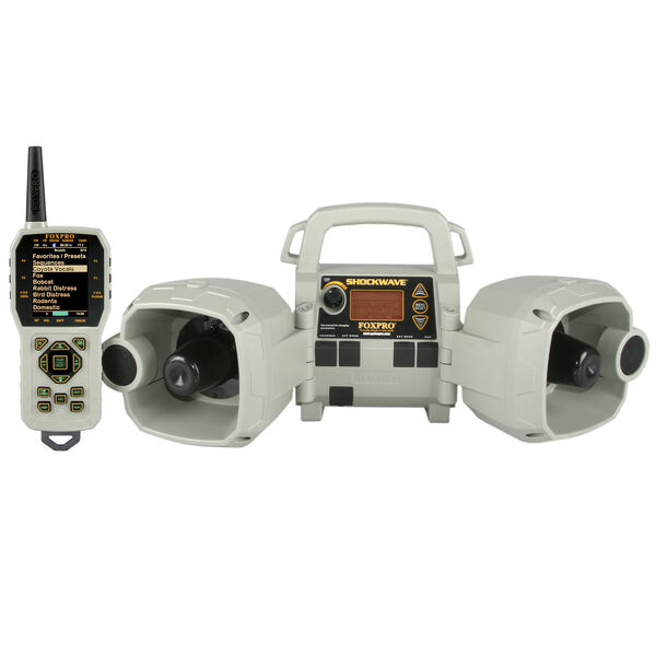 FOXPRO Shockwave Electronic Game Caller with Remote