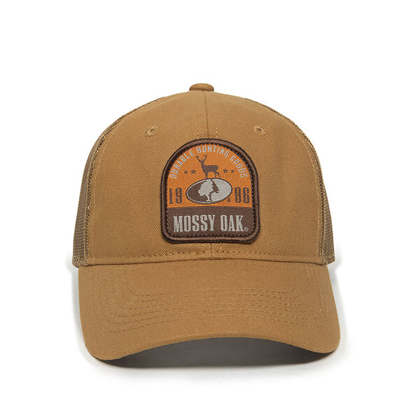 Mossy Oak Vintage Hunting Patch Cap