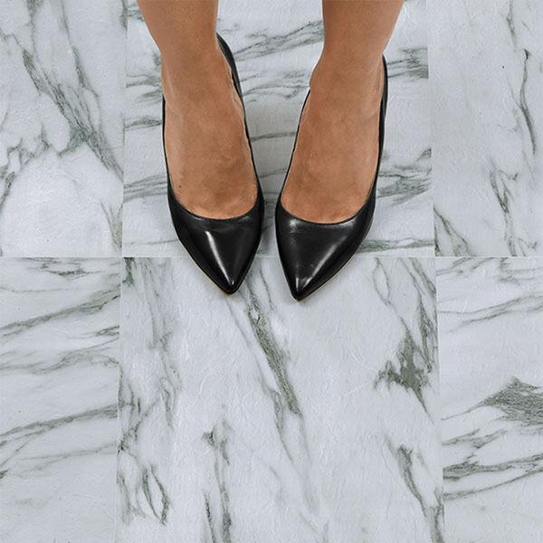 FloorPops Opaline Peel-and-Stick Floor Tiles