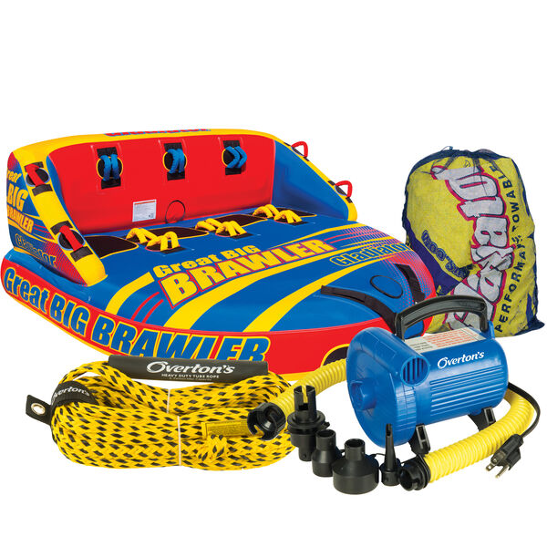 Gladiator Great Big Brawler 4-Person Towable Tube Package