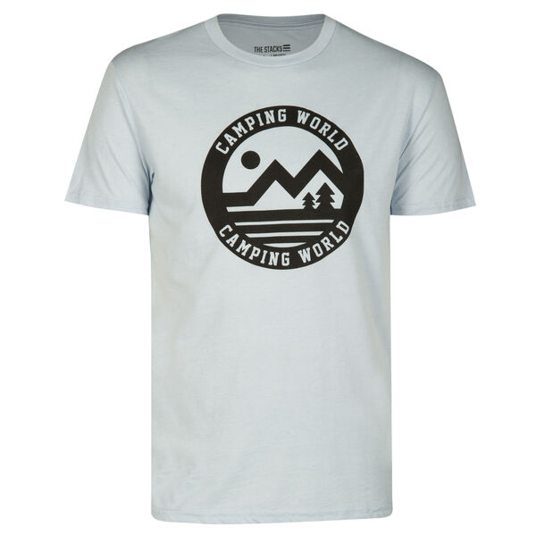 The Stacks Men's Camping World Simply Put Short-Sleeve Tee