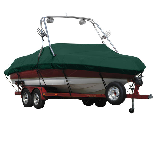 Exact Fit Covermate Sharkskin Boat Cover For SEA RAY 200 SELECT