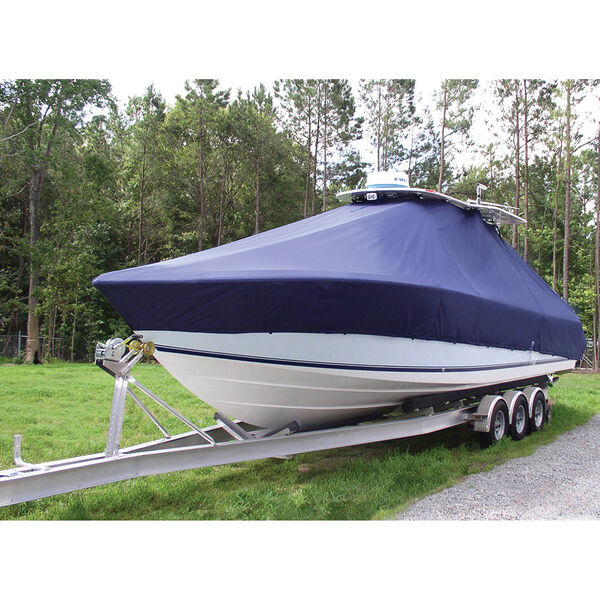 Taylor Made T-Top Boat Cover for Carolina Skiff 218 DLV