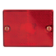 Optronics Square Reflector Trailer Marker/Clearance Light, Red