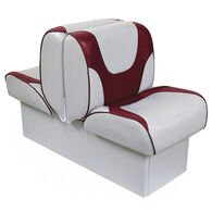 "Overton's Deluxe Back-to-Back Lounge Boat Seat with 8"" Base"