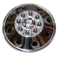 "Namsco Stainless Steel Wheel Cover, Single - 16.5"" All Styles"