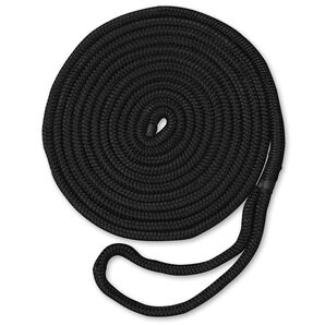"Dockmate Premium Double Braid Nylon Dock Line, 3/8"" x 15'"