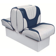 """Overton's Deluxe Back-to-Back Lounge Boat Seat with 10"""" Base"""