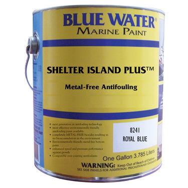 Blue Water Shelter Island Plus Copper-Free Ablative, Quart