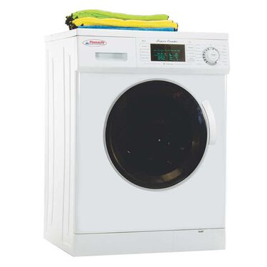 Pinnacle Super Combo Washer/Dryer 4400 with Automatic Water Level and Sensor Dry, White