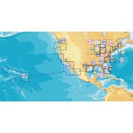 Navionics Platinum+ Map, West Gulf Of Mexico - SD Cartridge