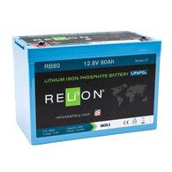 RELiON 12V 80Ah Lithium Battery