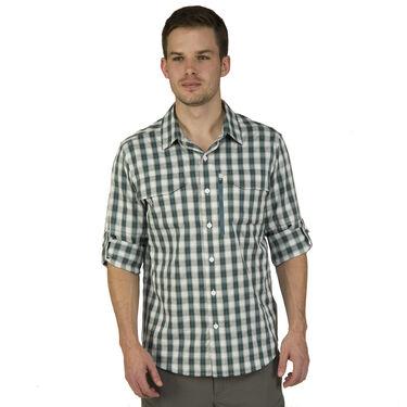 Ultimate Terrain Men's Trailhead Bug Repel Long-Sleeve Plaid Shirt