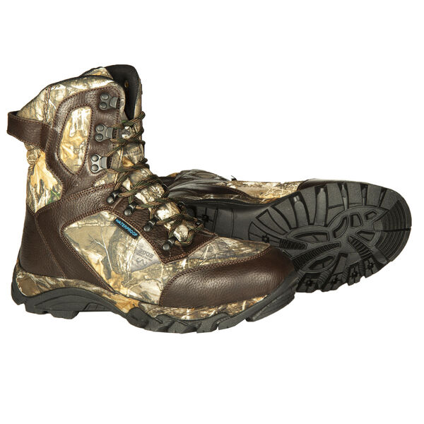 """Ducks Unlimited Men's Crucial 9"""" 1,000g Insulated Hunting Boot, Realtree Edge Camo"""