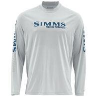 Simms Men's Solarflex Long-Sleeve Crew Neck Print Shirt