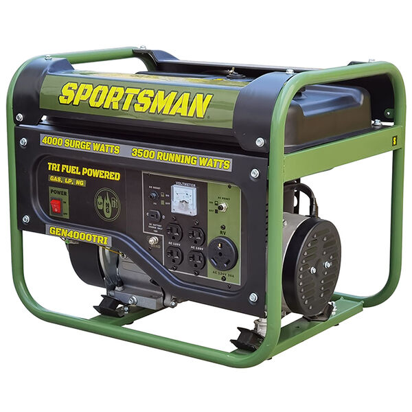 Sportsman 4000 Watt Portable Tri Fuel Generator