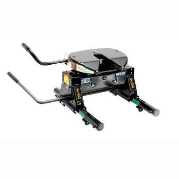 REESE 20K 5th Wheel Hitch with Round Tube Slider