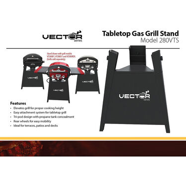 Vector Tabletop Grill Stand