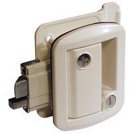 Global Classic Pro Trailer Lock, White