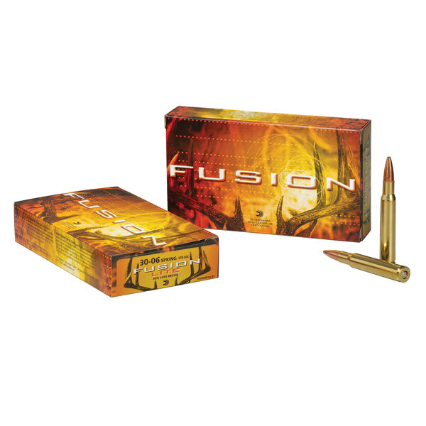 Fusion Rifle Ammunition, 7mm Rem Mag, 175-gr., BTSP