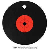 """Birchwood Casey World of Targets AR500 10"""" Single Hole Gong"""