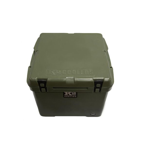 K2 Summit 60 Quart Cooler, Duck Boat Green
