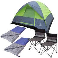 Stansport Cedar Creek 2-Person 5-Piece Camp Set