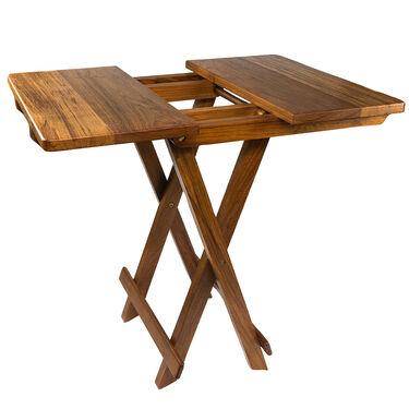 Whitecap Teak Teak Solid Top Fold-Away Table