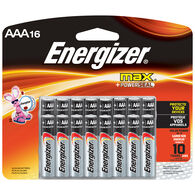Energizer MAX AAA Batteries, 16-Pack